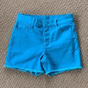 NWT Justice High Waist Denim Shorts